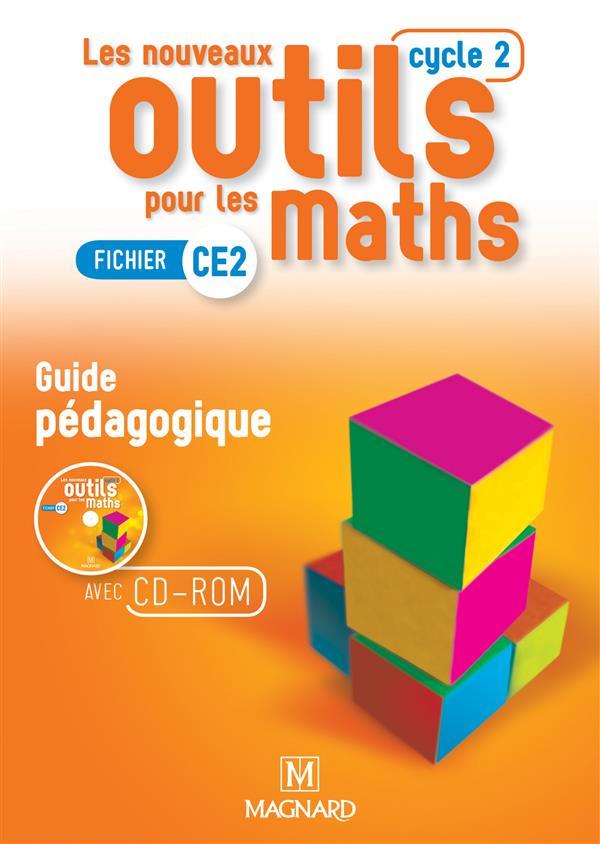 NOUVEAUX OUTILS POUR LES MATHS CE2 GUIDE PEDAGOGIQUE AVEC CD ROM (LES)