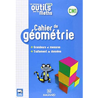 NOUVEAUX OUTILS POUR LES MATHS CM1 2018 CAHIER DE GEOMETRIE (LES)