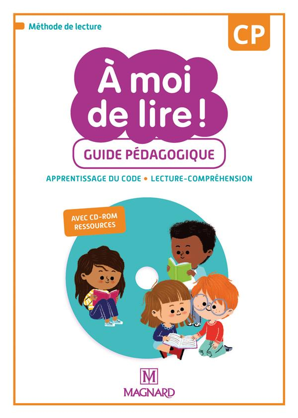 A MOI DE LIRE ! CP 2019 GUIDE PEDAGOGIQUE AVEC CD-ROM RESSOURCES