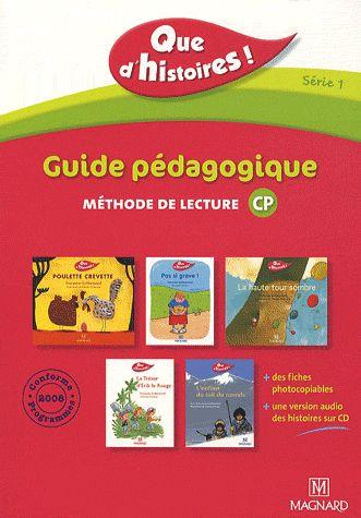QUE D'HISTOIRES CP SERIE 1 GUIDE PEDAGOGIQUE AVEC CD AUDIO INCLUS