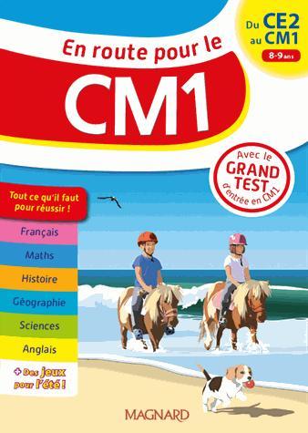 EN ROUTE POUR LE CM1 8/9 ANS