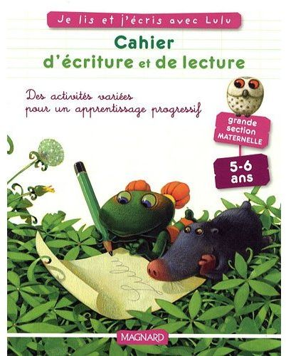 CAHIER LULU VROUMETTE LECTURE ECRITURE GS