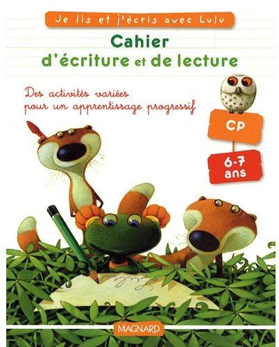CAHIER LULU VROUMETTE LECTURE ECRITURE CP