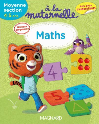 2016 A LA MATERNELLE MATHS MS 4-5 ANS