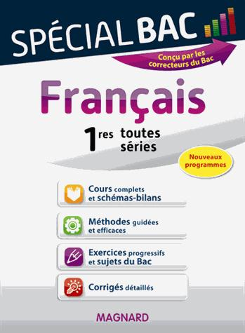 SPECIAL BAC FRANCAIS 1E TOUTES SERIES