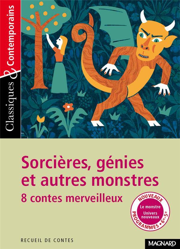 N.184 SORCIERES GENIES ET AUTRES MONSTRES 8 CONTES MERVEILLEUX