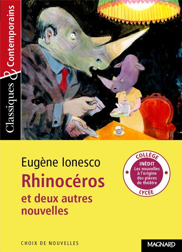 RHINOCEROS ET DEUX AUTRES NOUVELLES C&C N 188