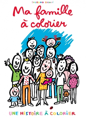 MA FAMILLE A COLORIER