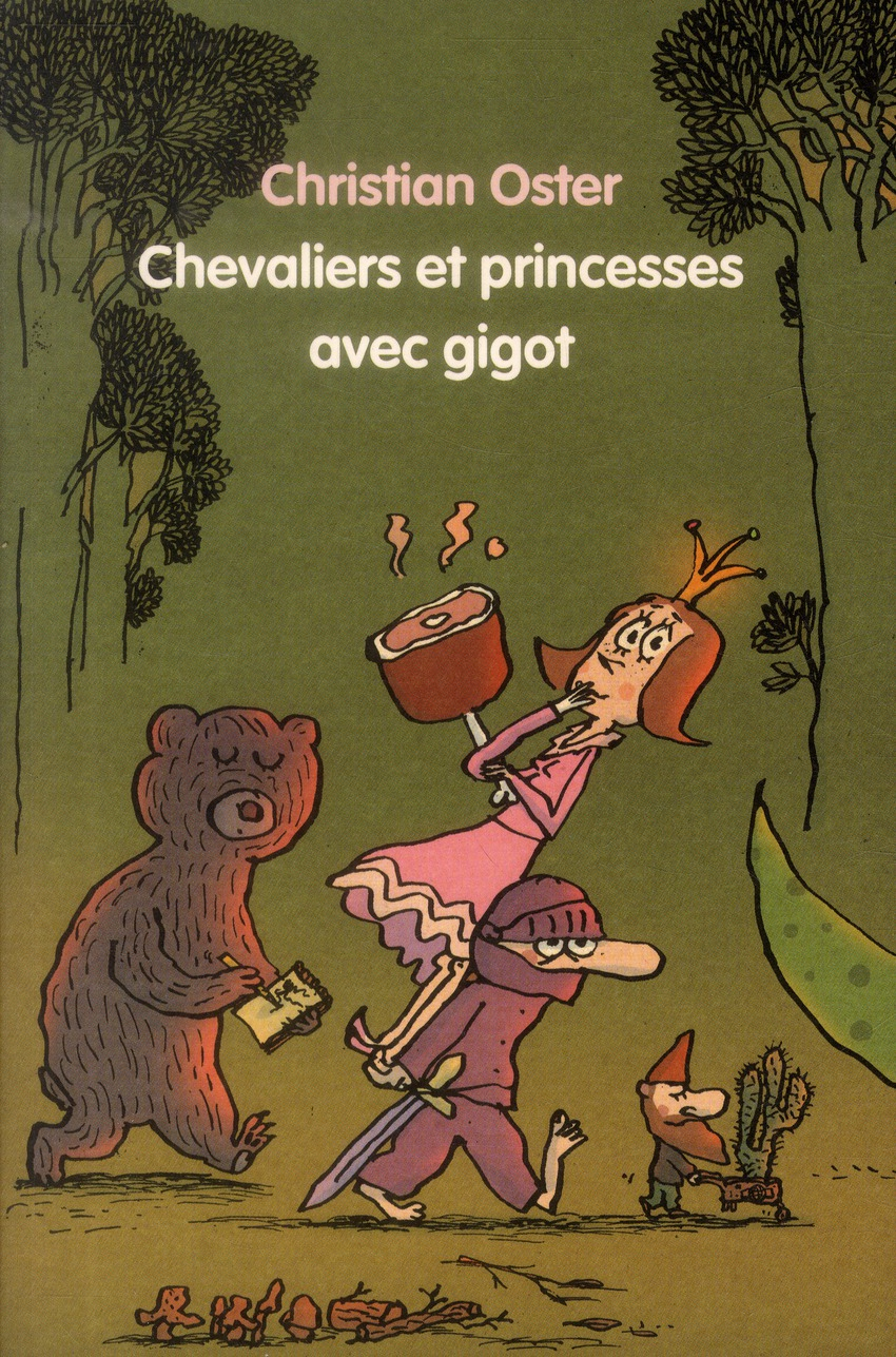 CHEVALIERS ET PRINCESSES GIGOT GF ANTHO