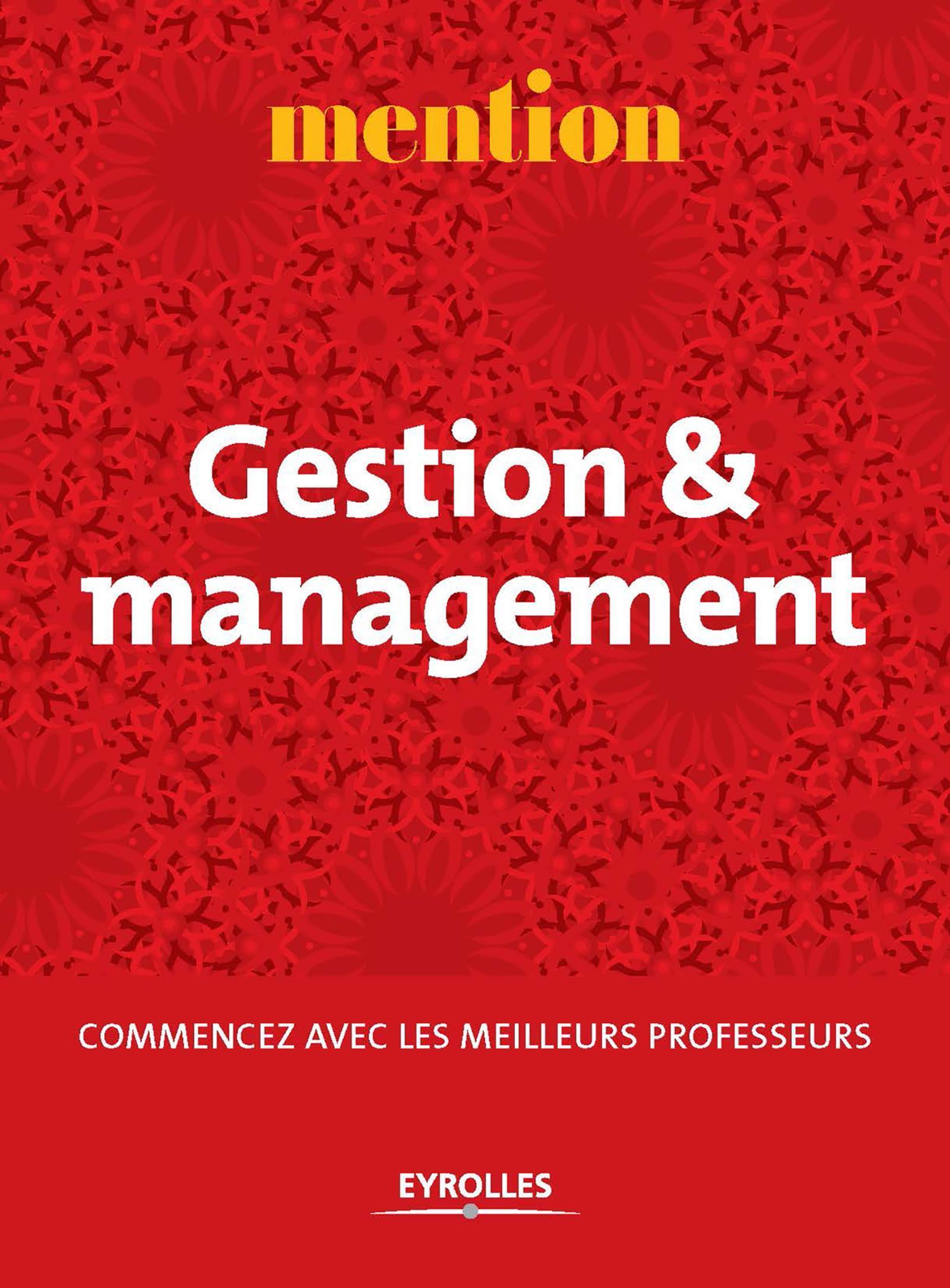 Mention Gestion et management