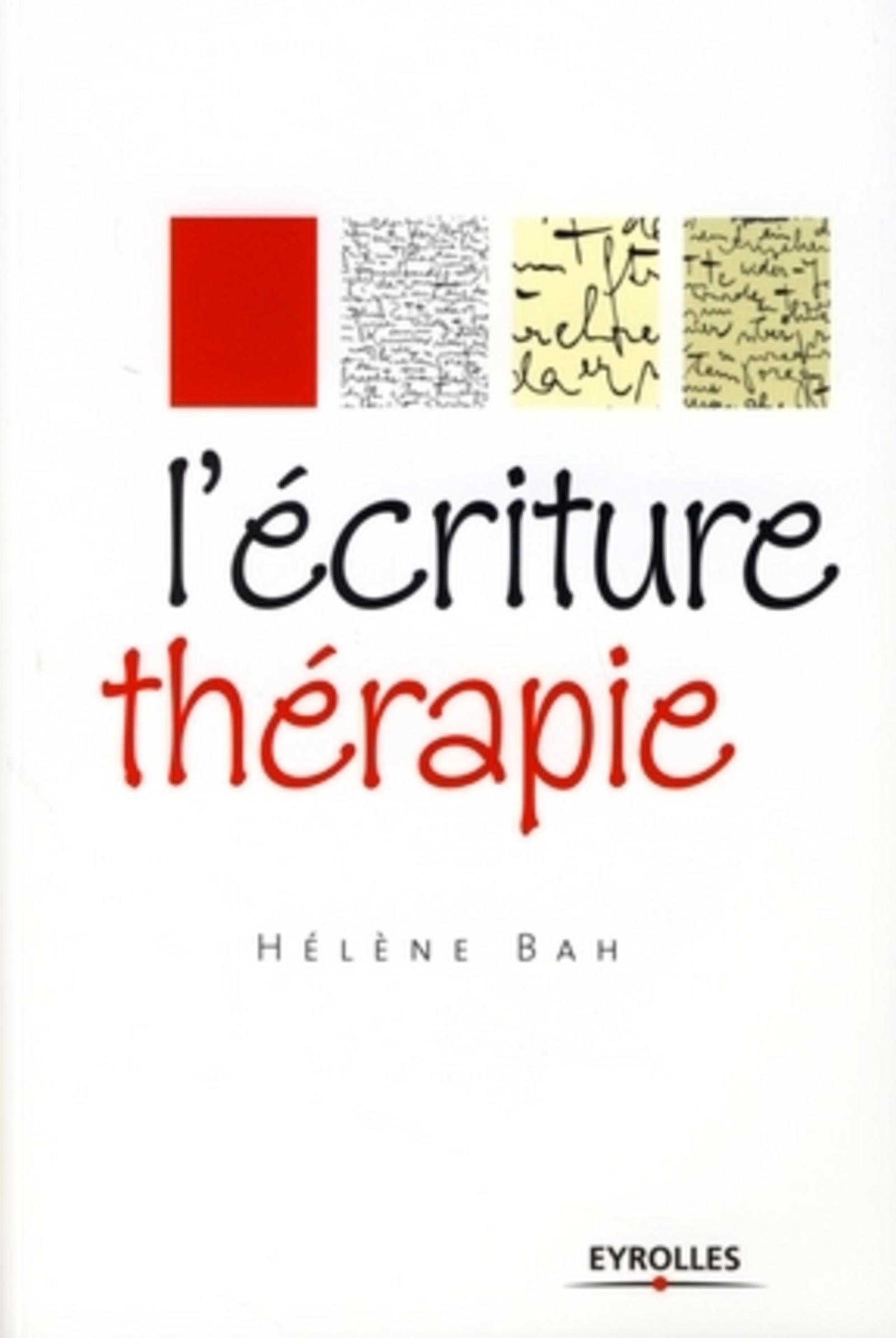 L'ECRITURE THERAPIE