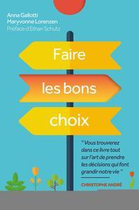 FAIRE LES BONS CHOIX
