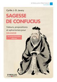 SAGESSE DE CONFUCIUS  VALEURS PROPOSITIONS ET APHORISMES POUR GRANDIR  16 CARTES