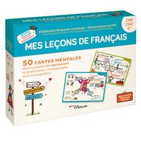 COFFRET MES LECONS DE FRANCAIS  CM1 CM2 6E