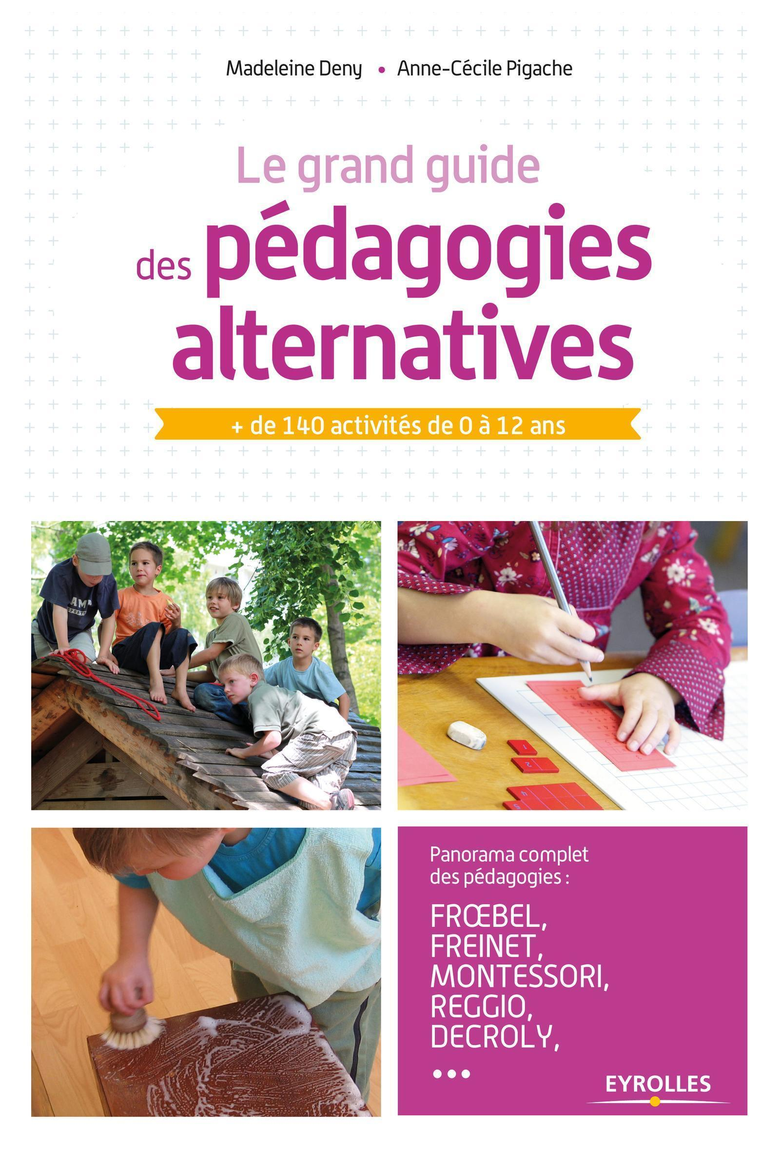 LE GRAND GUIDE DES PEDAGOGIES ALTERNATIVES - PLUS DE 140 ACTIVITES DE 0 A 12 ANS