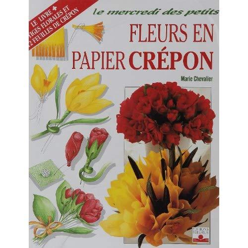 KIT FLEURS EN PAPIER CREPON