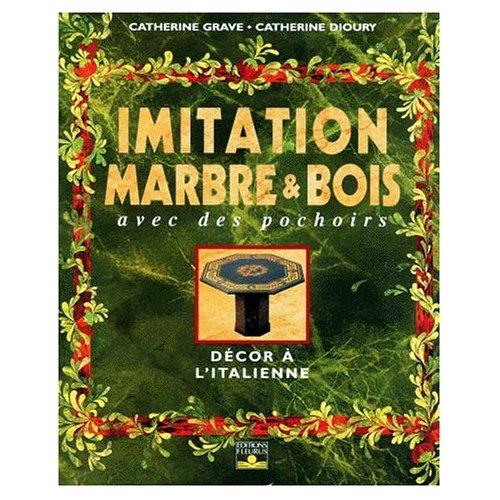 IMITATION MARBRE ET BOIS