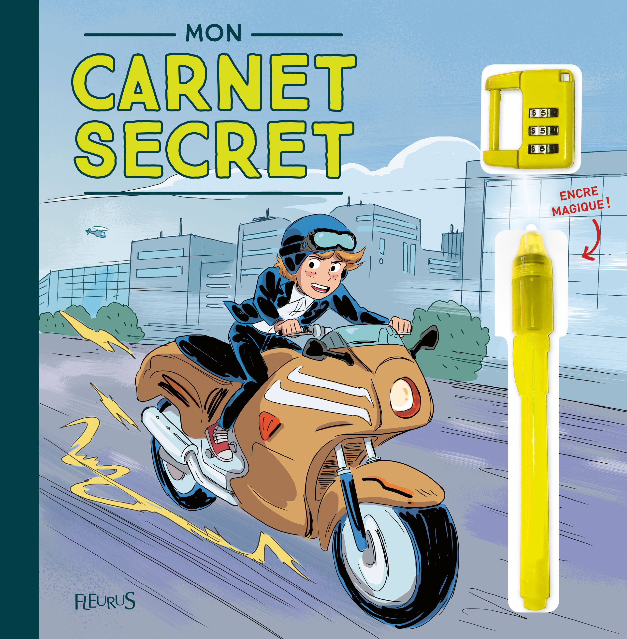 MON CARNET SECRET (AGENT SECRET ET MOTO)