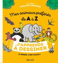 J'APPRENDS A DESSINER MES ANIMAUX PREFERES DE A A Z