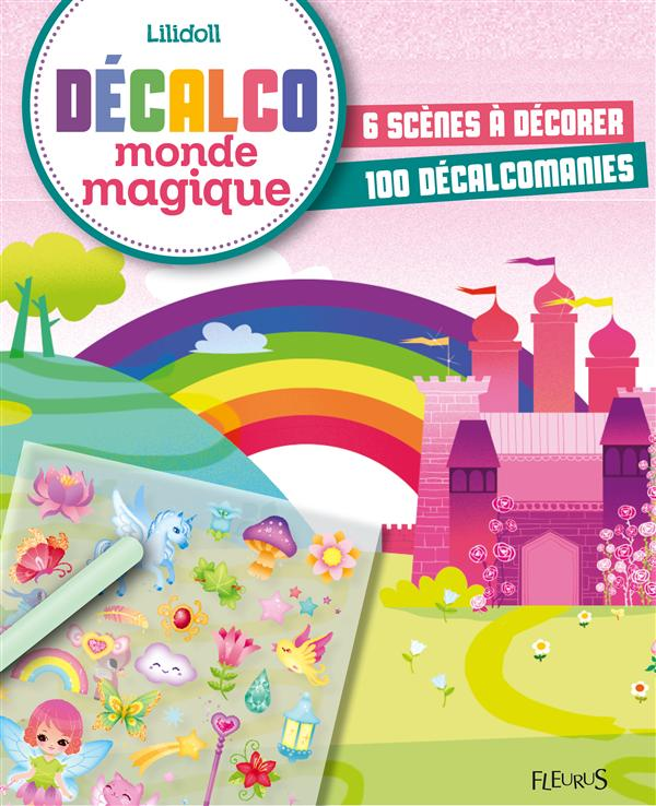 DECALCO MONDE MAGIQUE