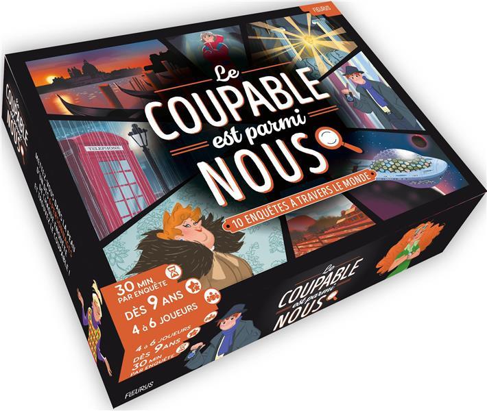 JEUX DE ROLE - LE COUPABLE EST PARMI NOUS - 10 ENQUETES A RESOUDRE