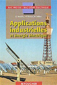 APPLICATIONS INDUSTRIELLES ET ENERGIE ELECTRIQUE