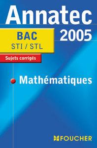 ANNATEC 2005 MATHEMATIQUES