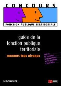 GUIDE DE LA FONCTION PUBLIQUE TERRITORIALE