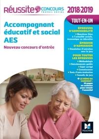 REUSSITE CONCOURS ACCOMPAGNANT EDUCATIF ET SOCIAL AES - CONCOURS D'ENTREE 2018-2019 N 92