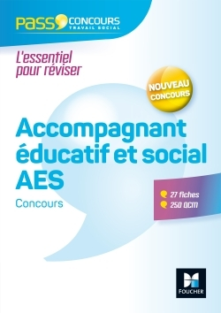 PASS'CONCOURS ACCOMPAGNANT EDUCATIF ET SOCIAL AES 3E EDITION N 65