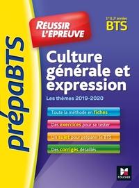 1 - PREPABTS - REUSSIR L'EPREUVE - CULTURE GENERALE ET EXPRESSION - TOUS BTS - REVISION ET ENTRAINEM
