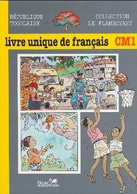 LE FLAMBOYANT, LIVRE UNIQUE DE FRANCAIS, CM1, TOGO, ELEVE
