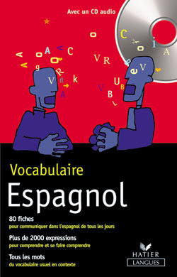 VOCABULAIRE ESPAGNOL + CD AUDIO