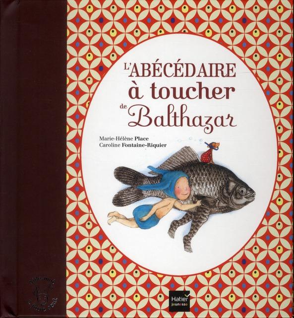 L'ABECEDAIRE A TOUCHER DE BALTHAZAR - PEDAGOGIE MONTESSORI