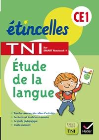 ETINCELLES CE1 ED. 2013 ETUDE DE LA LANGUE - ACTIVITES POUR TNI CD ROM