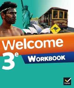 WELCOME ANGLAIS 3E ED. 2014 - WORKBOOK