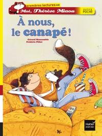 A NOUS, LE CANAPE !