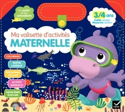 MA VALISETTE D'ACTIVITES MATERNELLE 3/4 ANS PETITE SECTION/MOYENNE SECTION