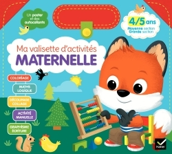 MA VALISETTE D'ACTIVITES MATERNELLE 4/5 ANS MOYENNE SECTION/GRANDE SECTION