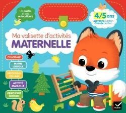 MA VALISETTE D'ACTIVITES MATERNELLE 4/5 ANS MOYENNE SECTION/GRANDE SECTION