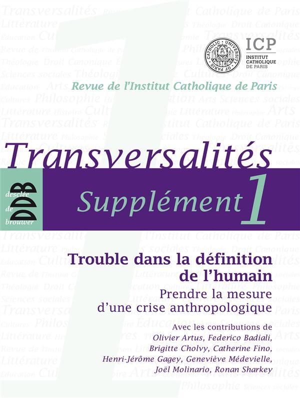 TRANSVERSALITES, SUPPLEMENT 1
