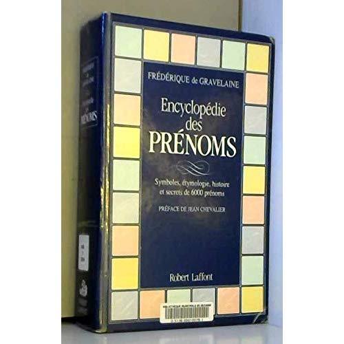 ENCYCLOPEDIE DES PRENOMS