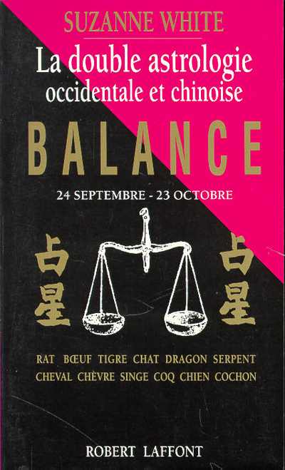 BALANCE  DOUBLE ASTROLOGIE
