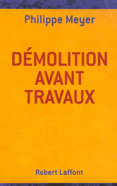 DEMOLITION AVANT TRAVAUX