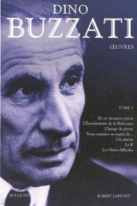 OEUVRES DE DINO BUZZATI - TOME 2 - BOUQUINS - VOL2