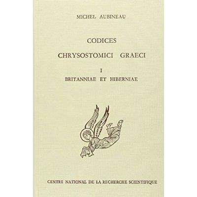 CODICES CHRYSOSTOMICI GRAECI T1