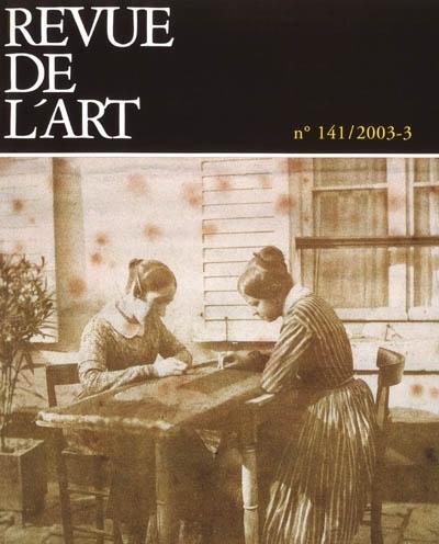 REVUE DE L'ART N  141 VOL 3/2003