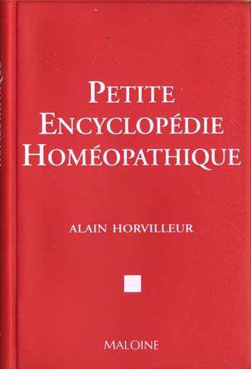 PETITE ENCYCLOPEDIE HOMEOPATHIQUE