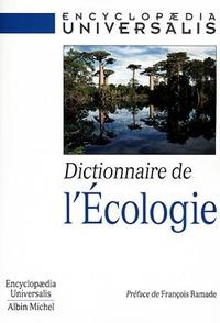 DICTIONNAIRE DE L'ECOLOGIE
