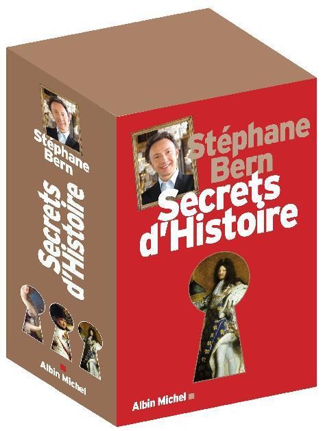 COFFRET SECRETS D'HISTOIRE 3 VOLUMES ( TOME 1,TOME 2, TOME 3)